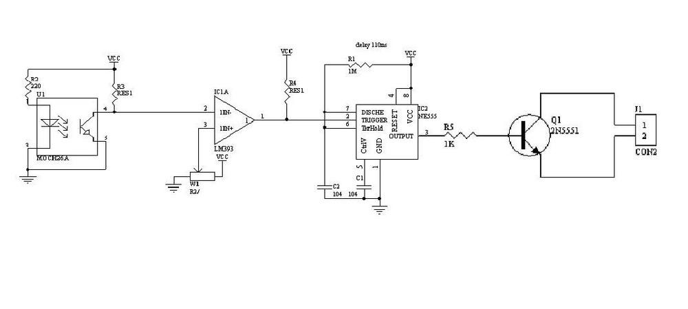 ;当连续的几滴尿液通过电钥时,银丝可能被连续接通而不断开,从而导致液滴计数的误差;比较小的液滴通过电钥时,液滴可能被挂在银丝上不落下,银丝同样被连续接通而不断开,势必造成实验数据的不准确。 多年来虽偶见有光电计滴装置的报道,由于其发射与接收管采用可见光的简单配置,势必抗干扰能力差,存在易受环境光线变化而引起信号漂移的弊端。 2.